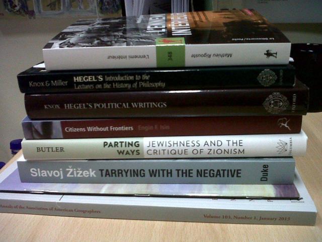 Books 28 Jan 2013