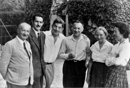 Heidegger, Axelos, Lacan et al
