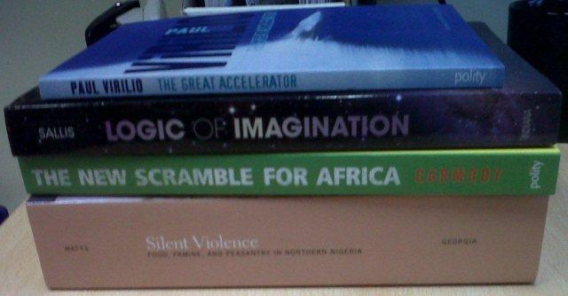 Books 4 March 2013
