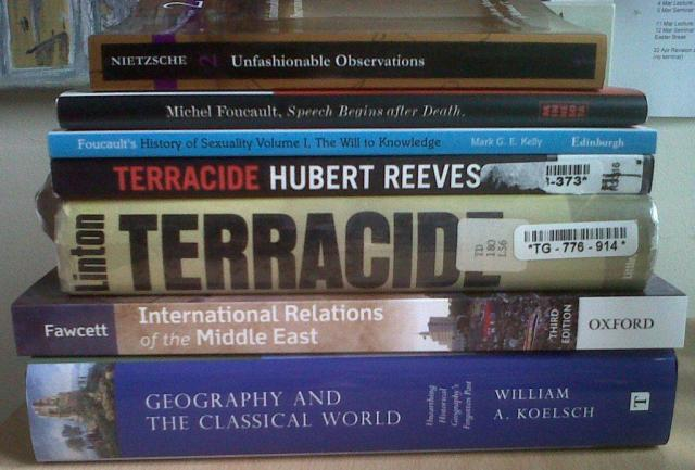 Books received 25 March 2013
