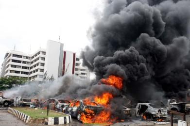 UN building bombing