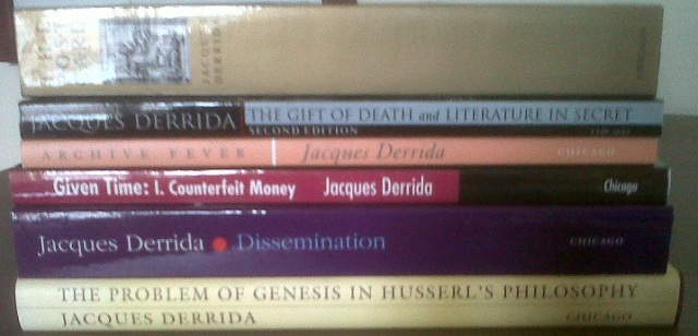 Derrrida books
