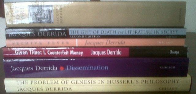 Derrrida books