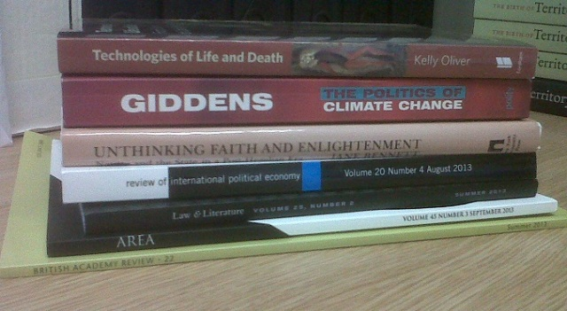books received 16 Sept
