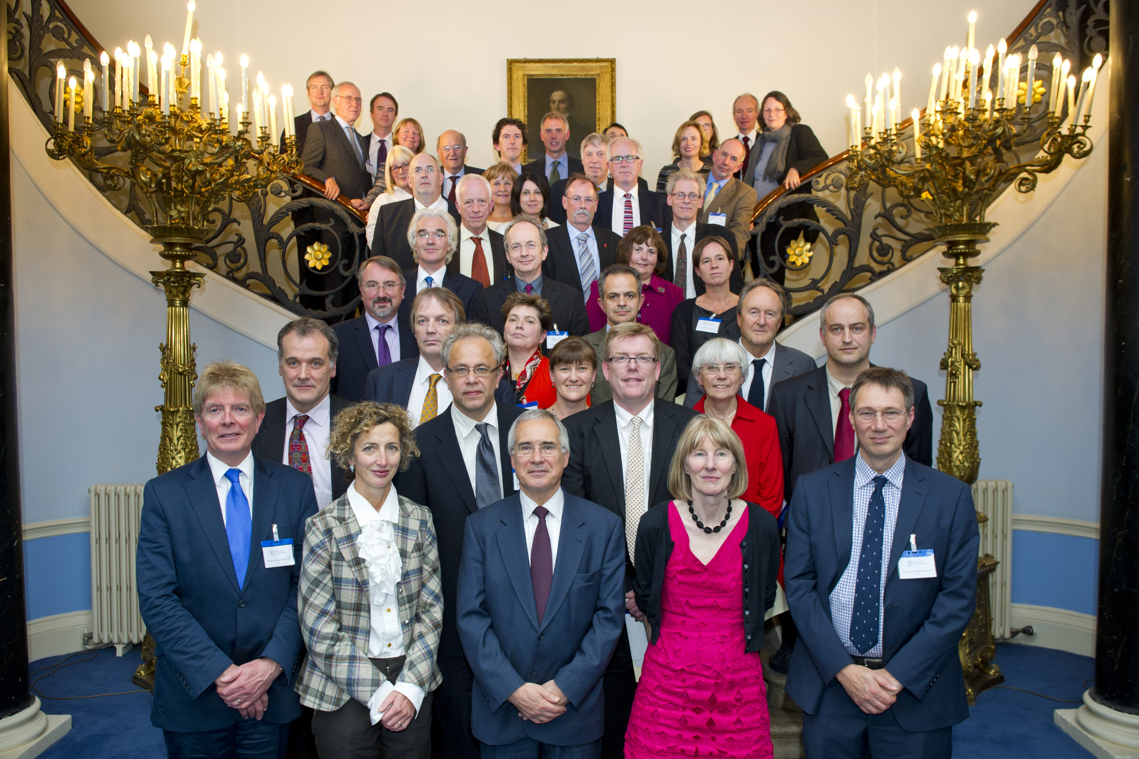 British Academy New Fellows Group Photograph Progressive Geographies