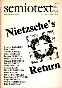 Semiotexte_Vol_3_No_1_Nietzsches_Return