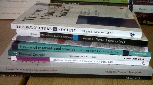 books received 11 March 2014 - 4