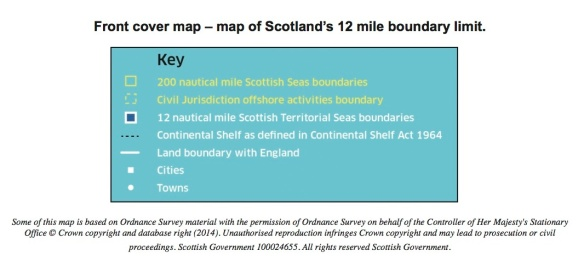 Map Of Uk 12 Mile Limit.Scotland S Maritime Boundaries The Cover Of The Land Reform