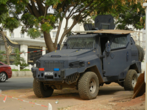 Armoured Car, Abuja