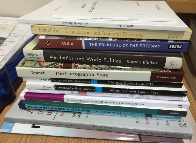 books received 25 June 2014
