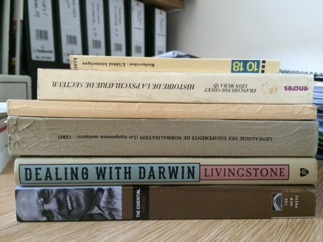 books received 25 Aug 2014