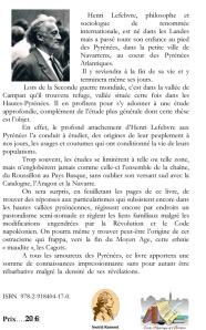 Henri Lefebvre, philosophe et sociologue de renommée internatio