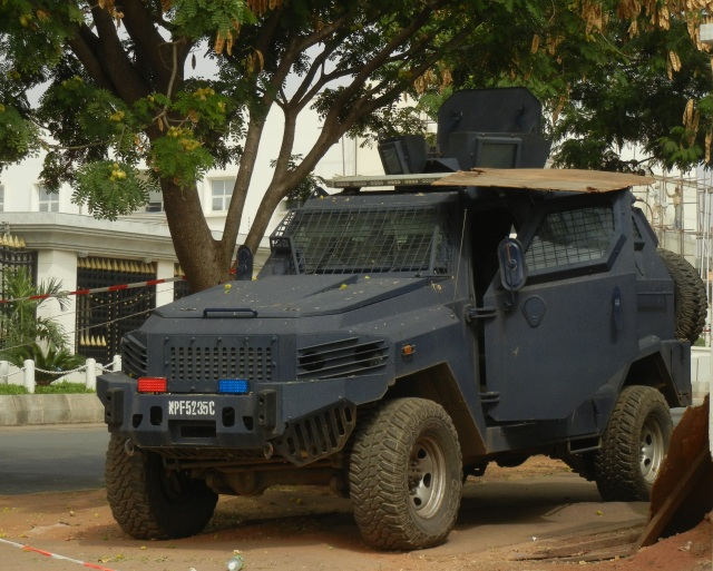 Military Presence in Maitama, Abuja