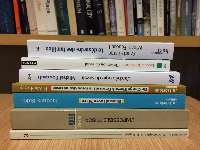 Foucault project books