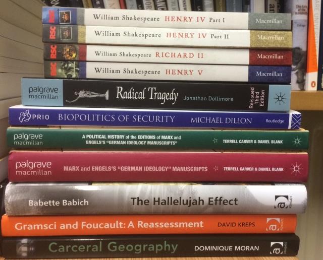 Ashgate and Palgrave