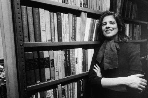 Portrait Of Author Susan Sontag