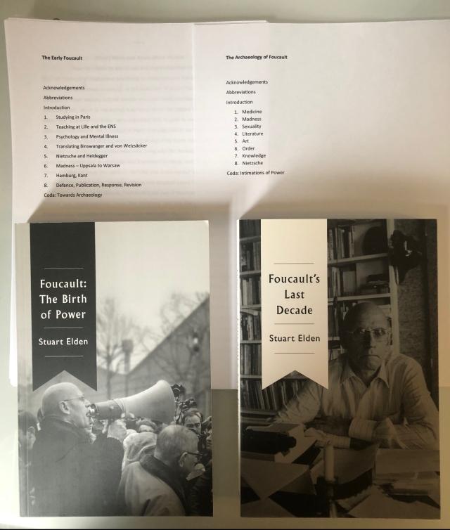 Foucault books